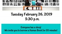 Everyone has a story! The Timmins Public Library invites you to come in on Tuesday February 26, 2019 at 5:30 p.m. and Human Book for 20 minutes! Challenge stereotypes […]