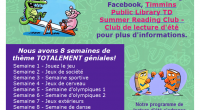 The Timmins Public Library invites kids and families to join us ONLINE to participate in the 2020 TD Summer Reading Club. Get your GAME ON with the Timmins Public […]