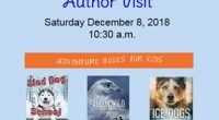 The Timmins Public Library will be hosting an Author Visit by Terry Lynn Johnson a northern Ontario writer of middle-grade adventure stories. Join us on Saturday, December 8th at 10:30 […]