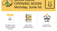 Book Drop Opening June 1st! Thank you for keeping library items safe while our branches have been closed! Please help us get ready for curbside pickup service by returning your […]