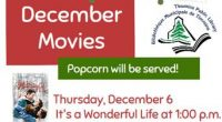 December Movies & Popcorn! For the month of December the Timmins Public Library will be screening: It's a Wonderful Life, December 6 at 1:00 p.m. White Christmas, December 13th at […]