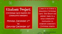 The C.M Shields Centennial Branch is asking the public for their assistance to brighten someone's Christmas season. All it will take is a visit to the library from Monday, December […]
