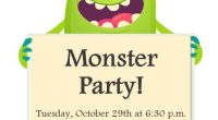 Join the C.M. Shields Centennial Branch in South Porcupine for a Monster Party – Tuesday, October 29th at 6:30 p.m. Come and enjoy a monster story, fun activities, and a […]